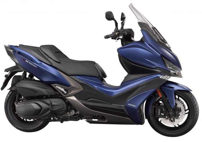 Scooter Kymco XCITING-400S-ESSAI