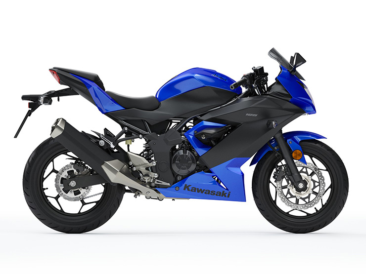 Kawasaki Ninja 125 Bleue 2019